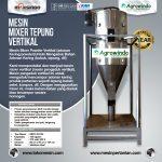 Mesin Mixer Tepung Vertikal