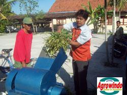 mesin grinder kompos organik 3 agrowindo