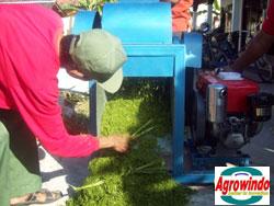 mesin grinder kompos organik 5 agrowindo
