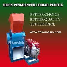 mesin penghancur plastik 2 agrowindo