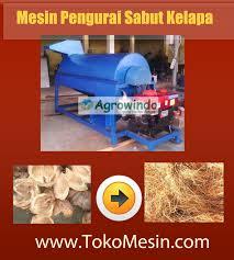 mesin pengurai sabut kelapa 1 agrowindo
