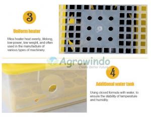 Mesin Penetas Telur Otomatis 48 Butir - AGR-YZ48 10 agrowindo