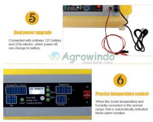 Mesin Penetas Telur Otomatis 48 Butir - AGR-YZ48 11 agrowindo