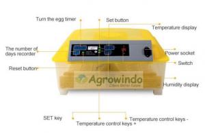 Mesin Penetas Telur Otomatis 48 Butir - AGR-YZ48 2 agrowindo