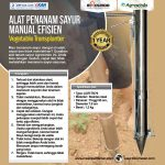 Alat Penanam Sayur (Vegetable Transplanter) Stainless