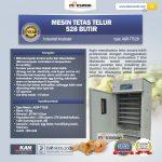Mesin Tetas Telur Industri 528 Butir (Industrial Incubator)