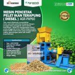 Mesin Pencetak Pelet Ikan Terapung (Diesel)