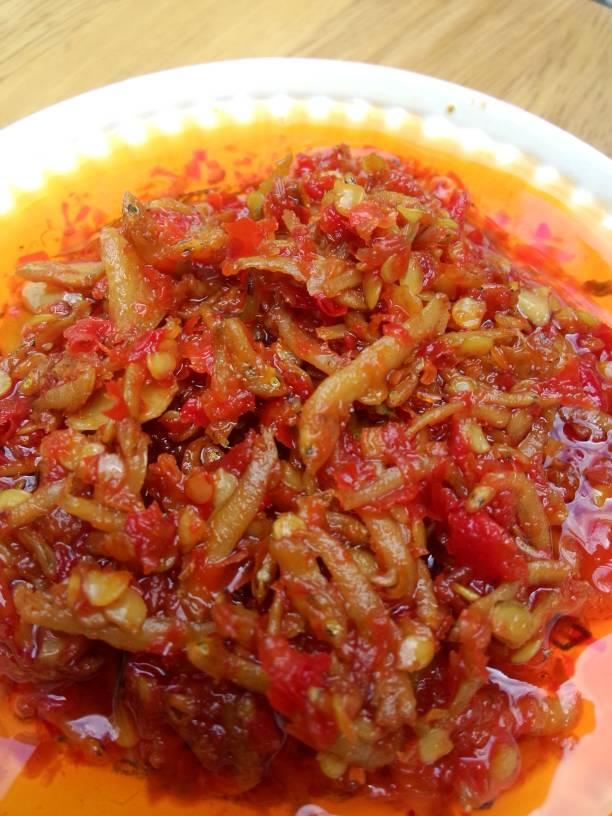 Image result for sambal teri
