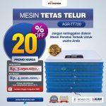 Mesin Penetas Telur AGR-TT720