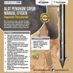 Alat Penanam Sayur (Vegetable Transplanter) Stainless