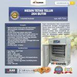Mesin Tetas Telur Industri 264 Butir (Industrial Incubator)
