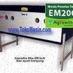 Mesin Penetas Telur Manual 200 Telur (EM-200)