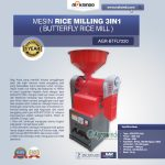 Mesin Rice Milling 3in1 (Butterfly Rice Mill) AGR-BTFLY220