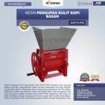 Mesin Pengupas Kulit Kopi Basah Type AGR-PLP50
