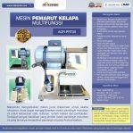Mesin Pemarut Kelapa Multifungsi AGR-PRT30